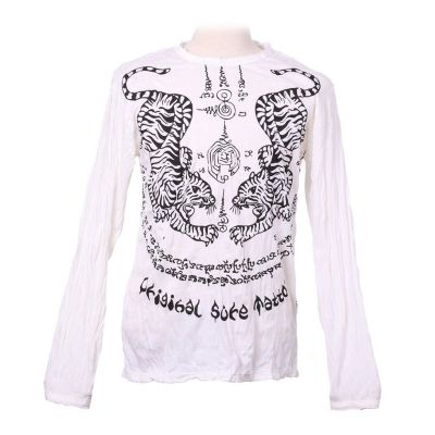 T-shirt Tigers White - long sleeve