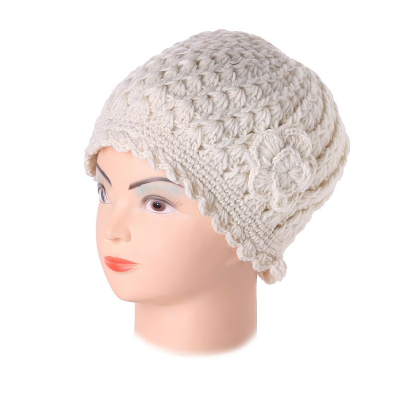 Woollen hat Murni Putih