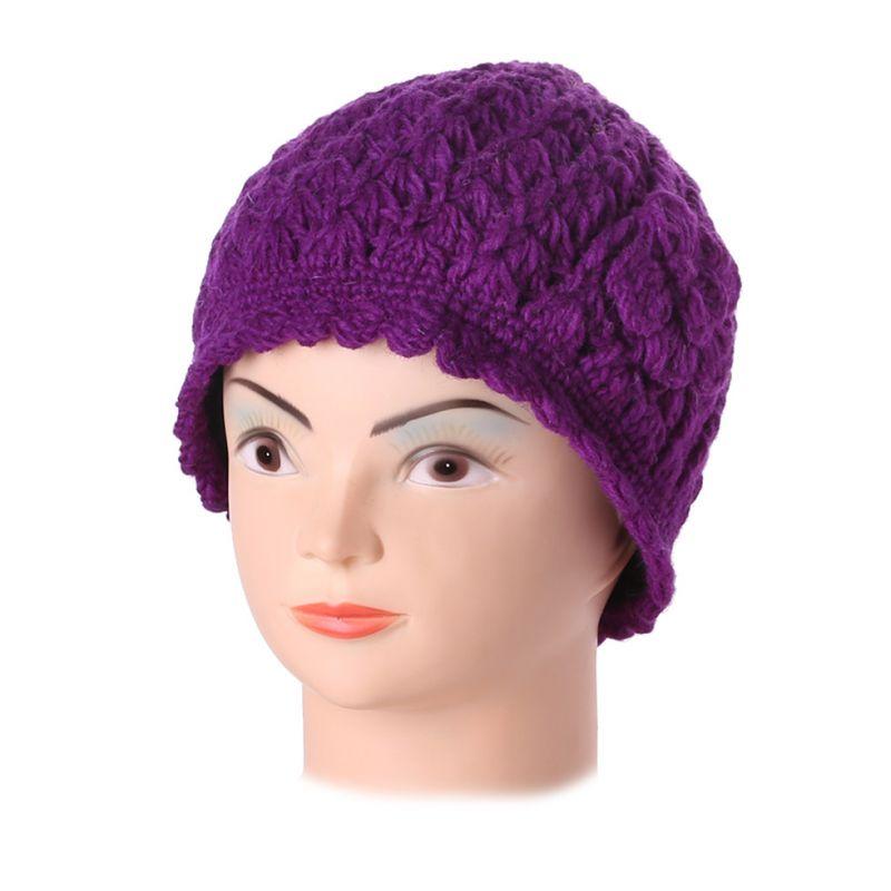 Woollen hat Murni Ungu