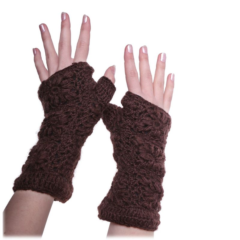Hand warmers Bardia Brown