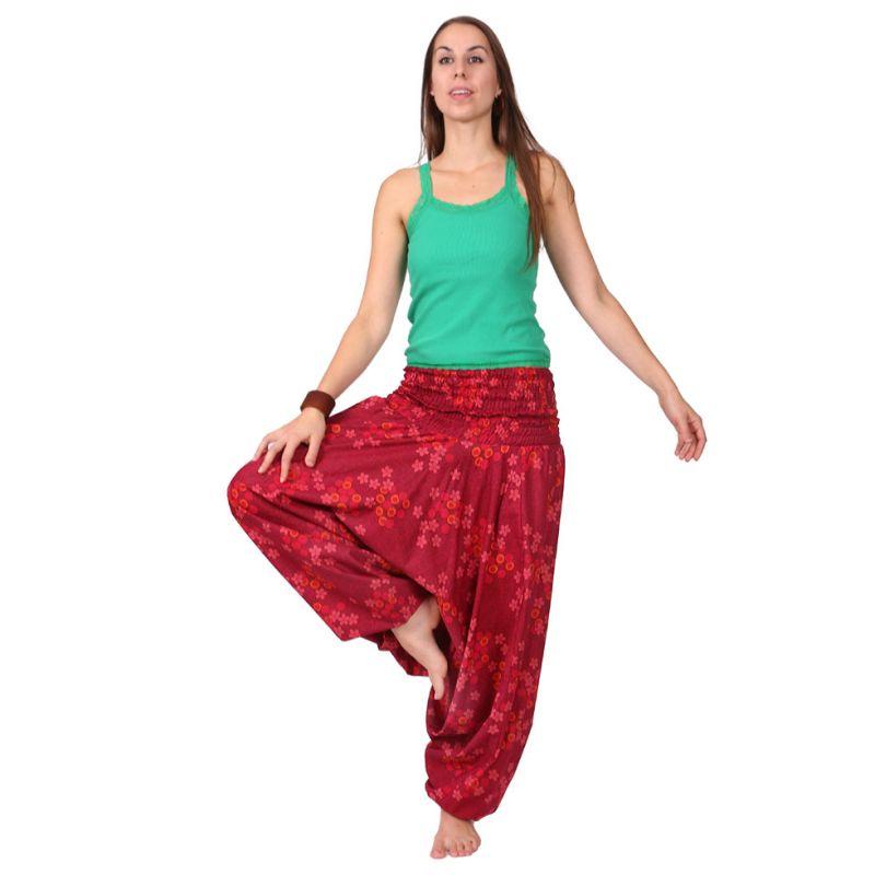 Harem trousers Pink Garden India