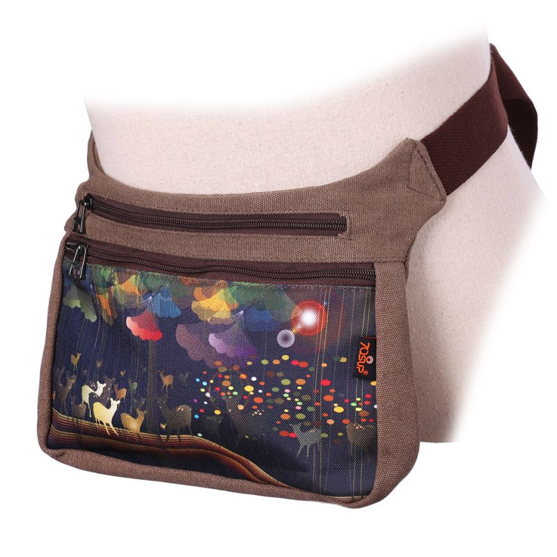 Money Belt 70sUP Forest Herd - Big